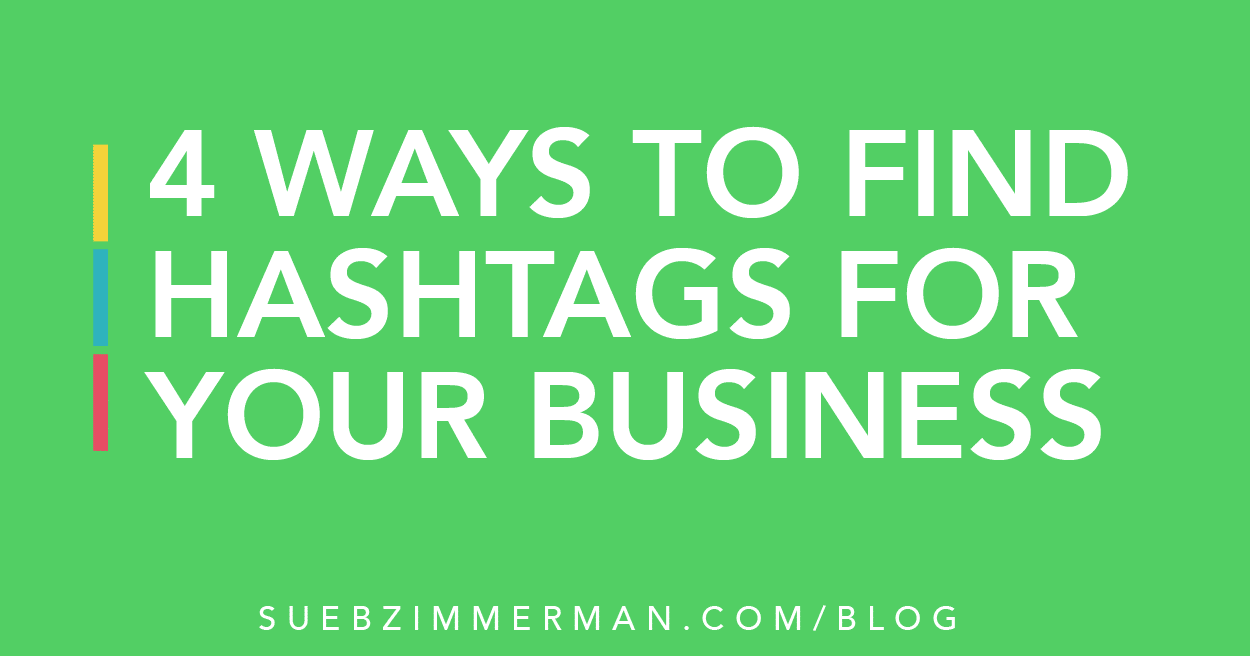 How to find hashtags for your business